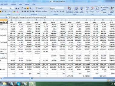 Financial Data Entry