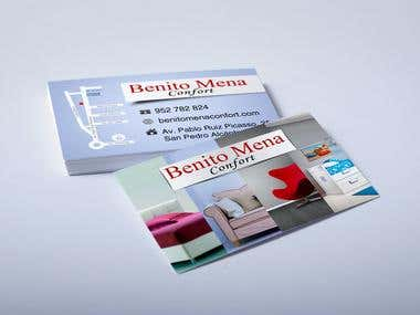 Some business cards...