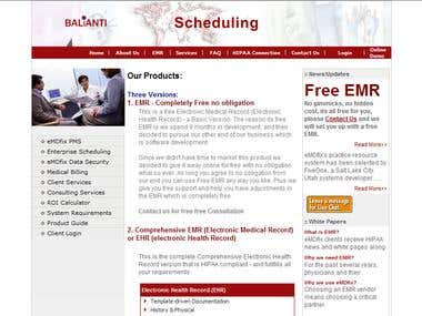 Electronic Medical Record Keeping System (EMR)