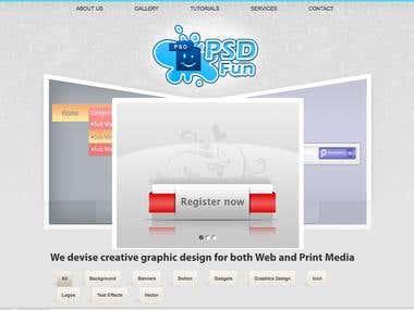 Logo and banner portfolio