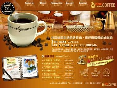 Coffee Shop Website Porfolio