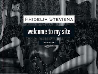 Phidelia Steviena Portfolio Design
