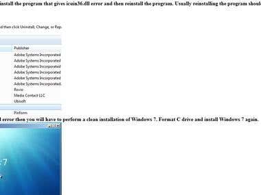 100 Windows 7 and Windows 8 tutorial