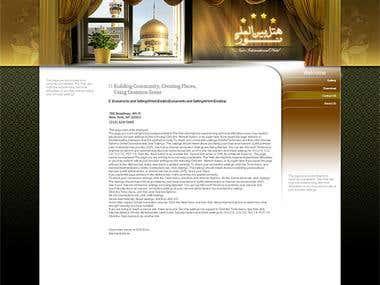 Hotel website (Joomla)