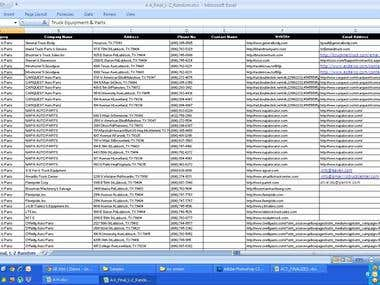 Email database,mailinglist,data entry,email marketing