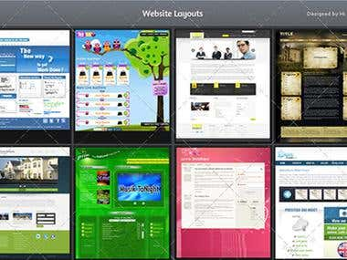 Web Templates Layout