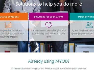 MYOB website