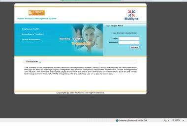 HR Management System for Multilynx