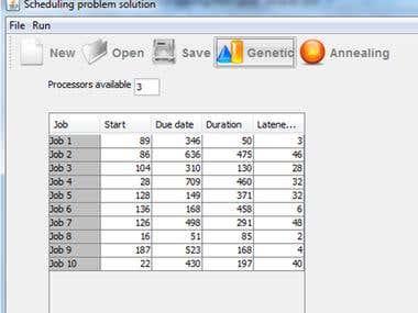Genetic Algorithms to Solve Multiprocessor Scheduling Prob.