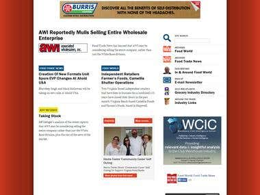 The Food Trade News WordPress Website - http://best-met.com