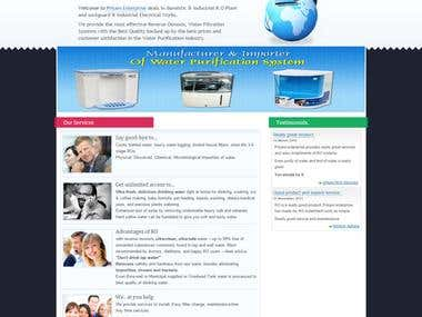 Prisam Enterprise - Website Design and Development