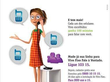 Company Telephony VIVO - BRAZIL