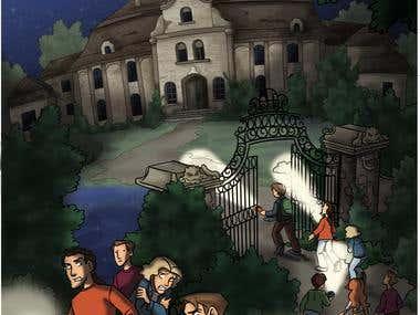 Hesbaye comic page