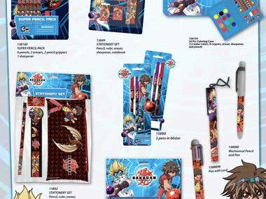 Bakugan School supplies
