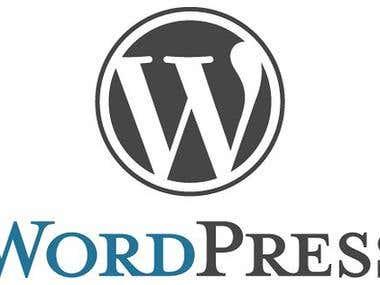 { Wordpress }