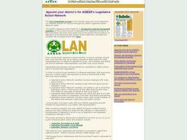 Offline Converted to Online Newsletter