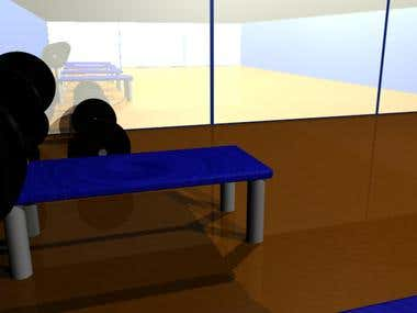 3-D Gym