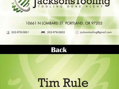Jackson Business Card