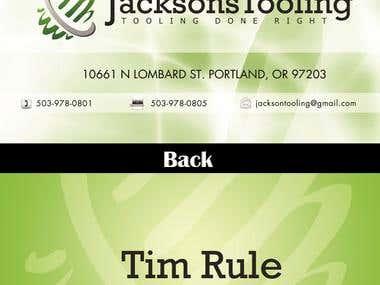 Jackson Business Card