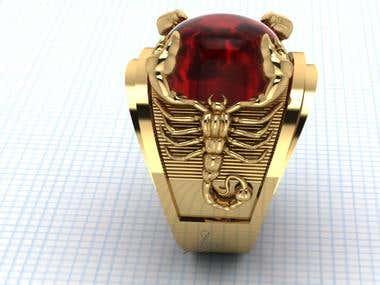 Scorpions Ring