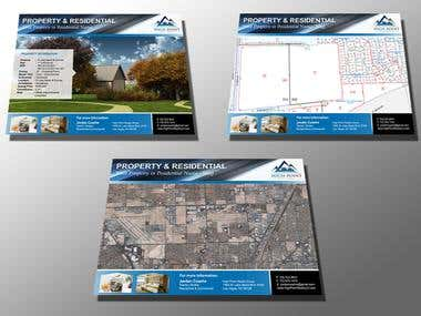 Design a Flyer for Real Estate