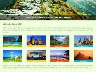 Tour coordinators website