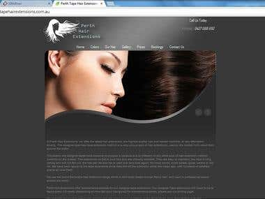 beauty and hair saloon sites