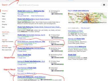 Google Place SEO