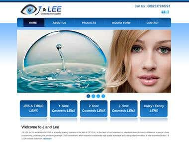 J& Lee contact lenses