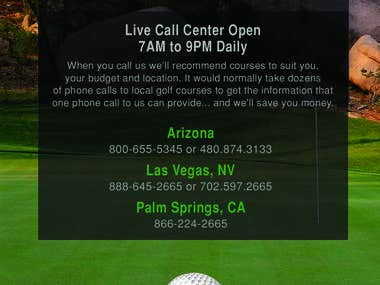 Discount Tee Times Flyer