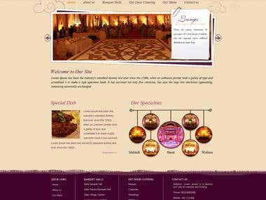 Zafar Caterers Web Design