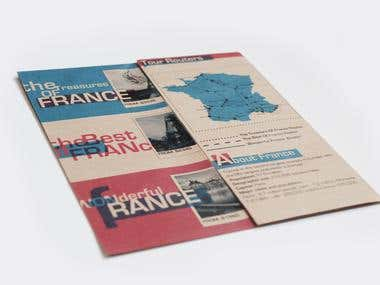 TRAVEL BROCHURE LAYOUT