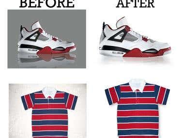 product retouching