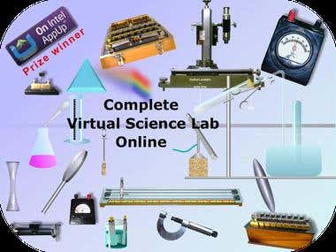 A Complete Virtual Science lab – Full Online Access