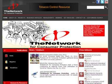 The Network NGO Web Application
