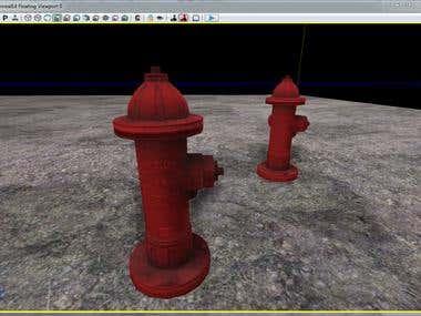 3D Asset - Fire Hydrant
