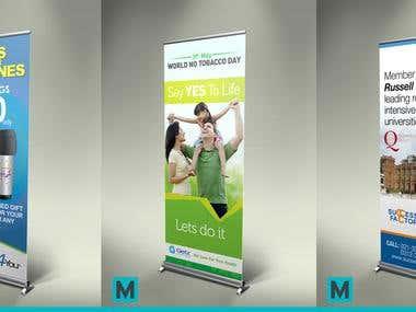Pop Banner Design