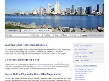 Real Estate and IDX Integration
