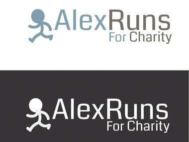 """Logo For """"AlexRuns"""" Contest"""