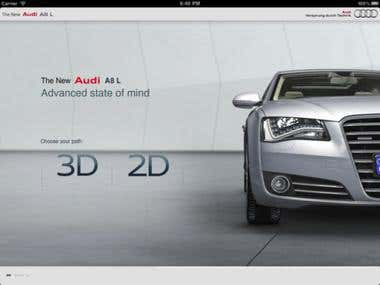 Audi A8L for iOS