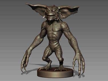 Gremlin sculpt zbrush