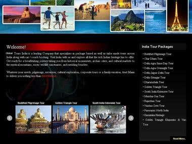 Tours Website