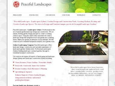 Full Website Design & its Functionality