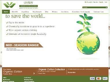 Shoping Website In JOOMLA