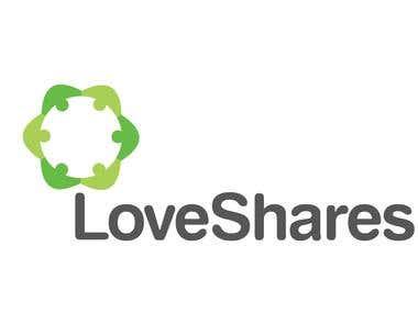 Logo design for LoveShares