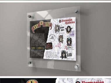 Guns n' Roses Infografia