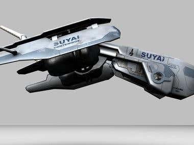 Model - starship 1