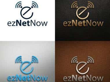 Logo Design for eznet