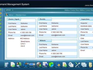 Water Managment Web Application (USA)