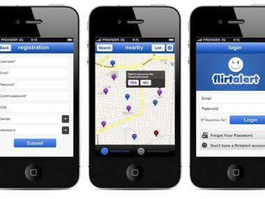 FlirtAlert App
